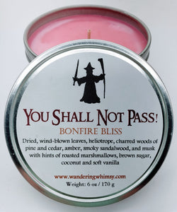 You Shall Not Pass Soy Candle