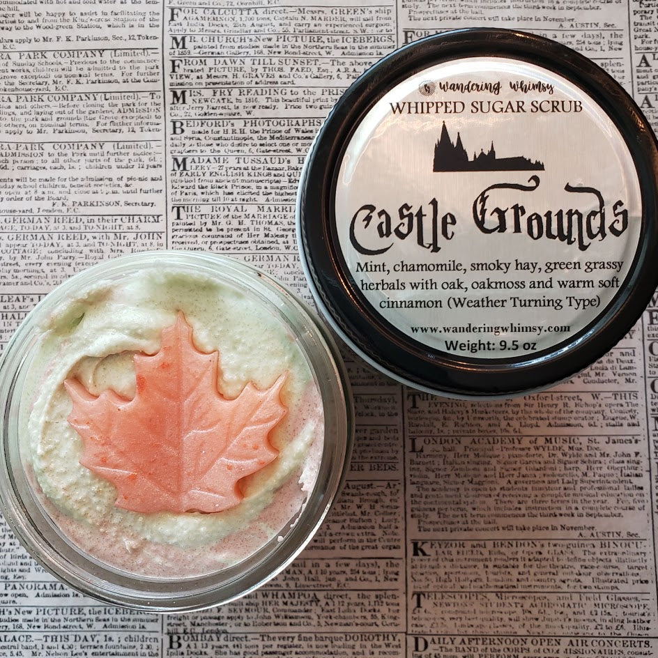Castle Grounds Whipped Sugar Scrub