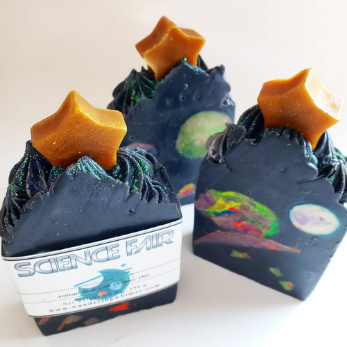 Science Fair Galaxy-ish Artisan Soap