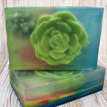 Load image into Gallery viewer, Succulent Terrarium Soap