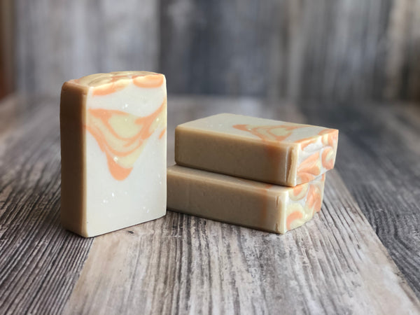 Pineapple Papaya Goat Milk Soap