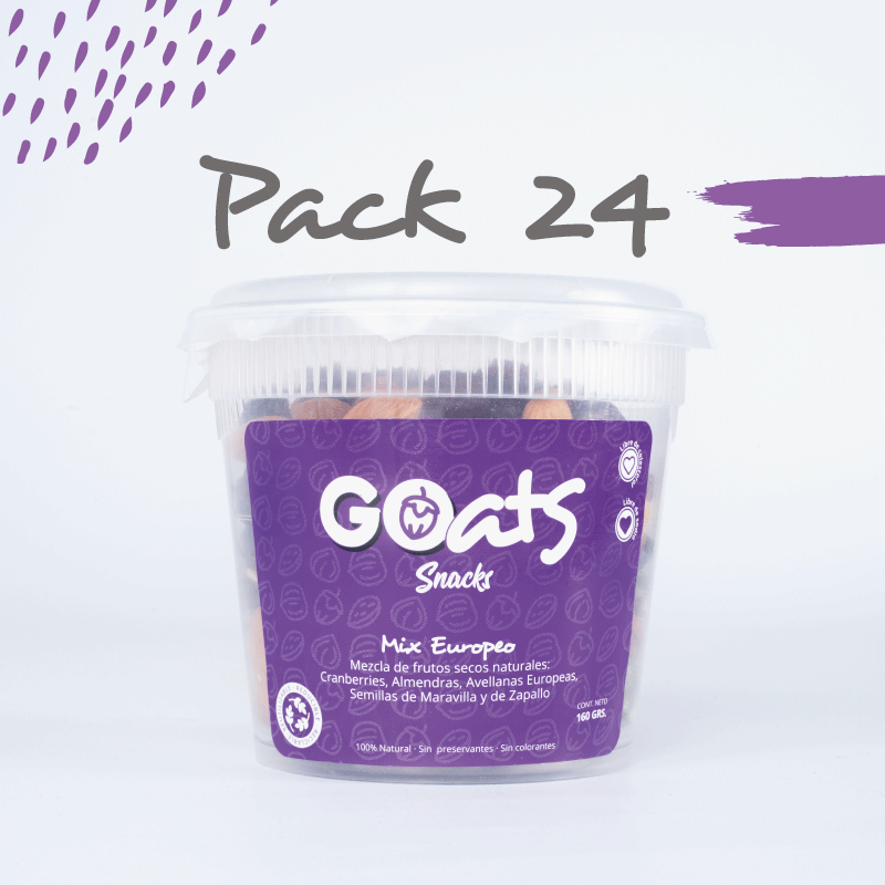 GOats Snacks Mix Europeo 24