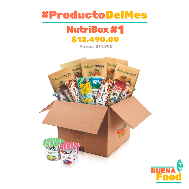 #ProductoDelMes : Nutribox #1  🎁