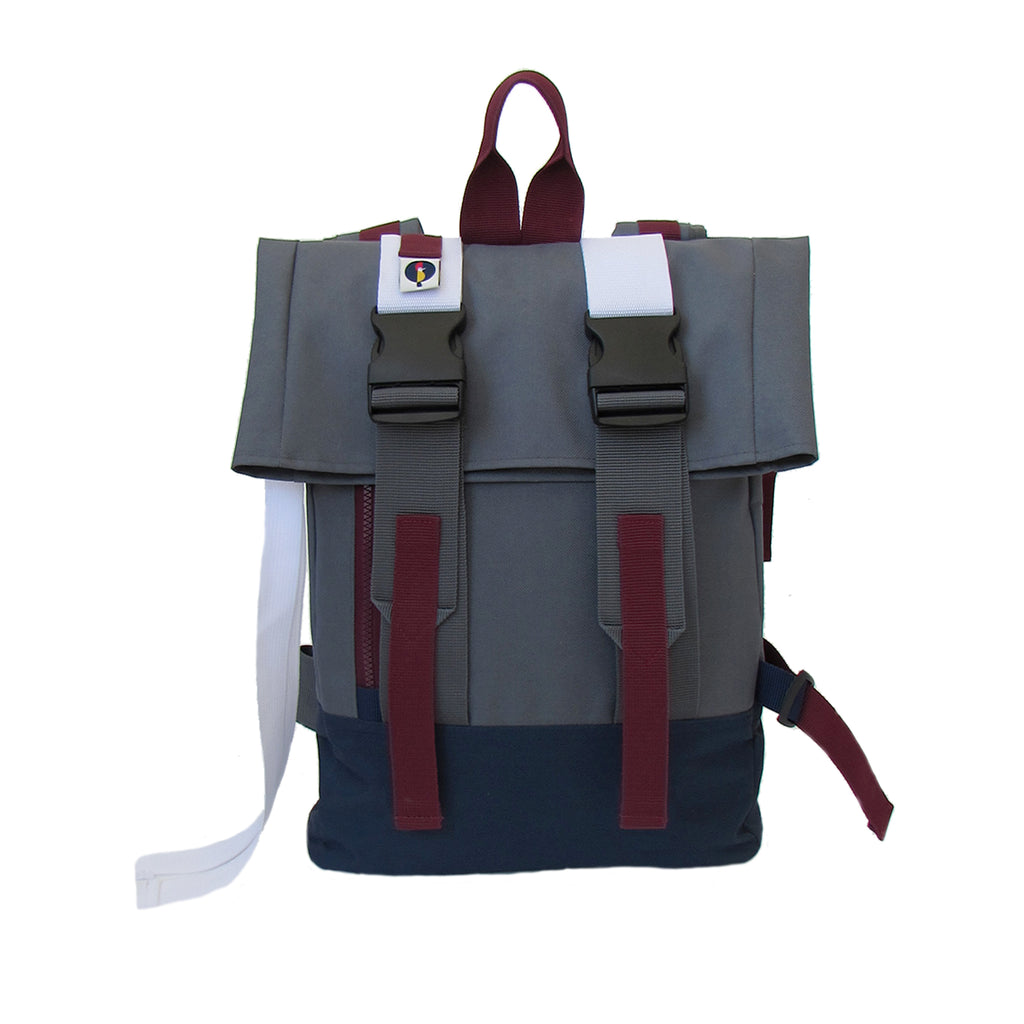 Mount Sinai Backpack Grey / Navy