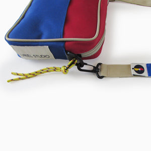 Accessories Brick Shoulder Bag Red / Blue