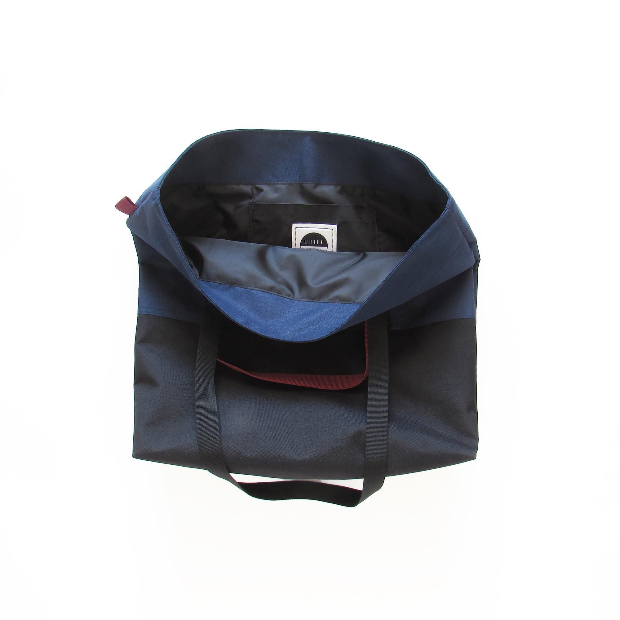 Cube Enlarged Shopper Navy/ Black