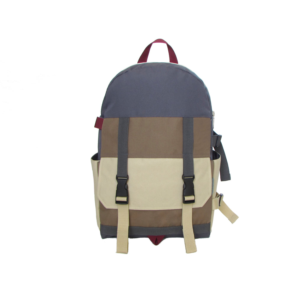 Hill Top Backpack Grey / Ivory