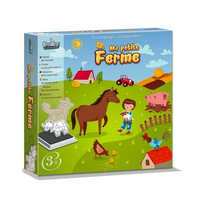 Foam Stamps set - My Little Farm