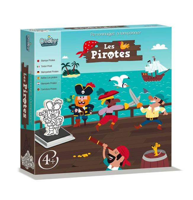 Foam Stamps set - Pirates
