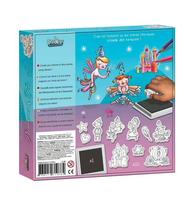 Foam Stamps set - Princesses and fairies