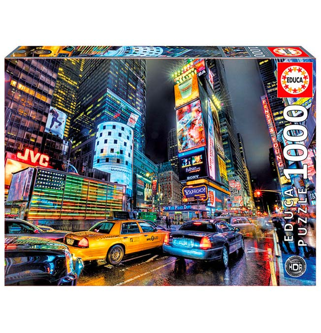 Times Square, New York - Puzzle 1000 pieces