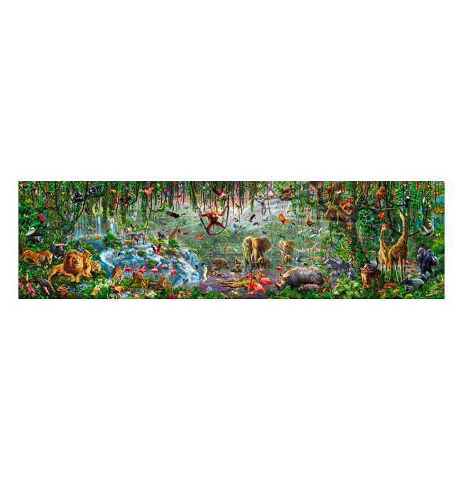 33600 pieces puzzle Wildlife