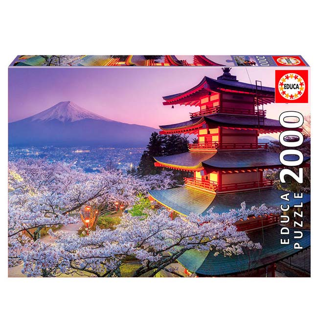 Mount Fuji, Japan - Puzzle 2000 pieces