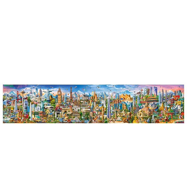42000 pieces puzzle Around the World