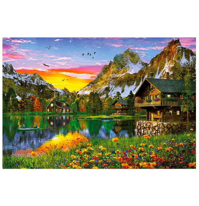 Puzzle 5000 Pieces - Alpine Lake