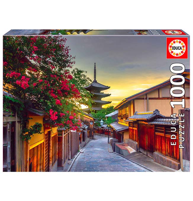 Yasaka Pagoda, Kyoto Japan - Puzzle 1000 pieces