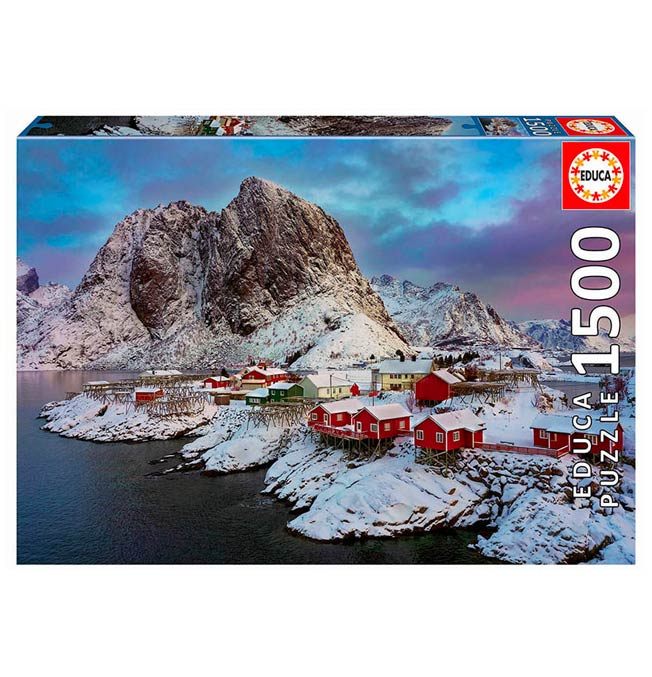Lofoten Islands, Norway - Puzzle 1500 pieces