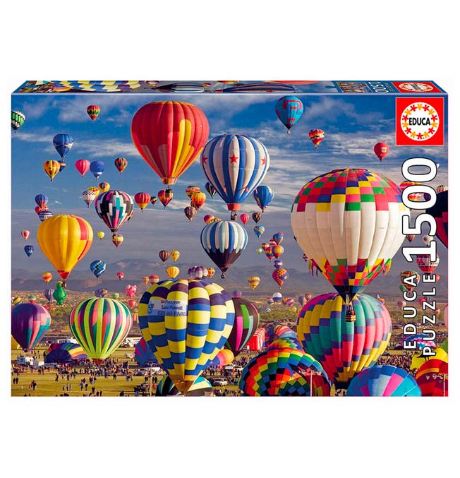 Hot Air Ballons - Puzzle 1500 pieces