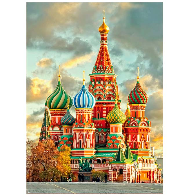 St Basil's Cathedral, Moscow - Puzzle 1000 pieces