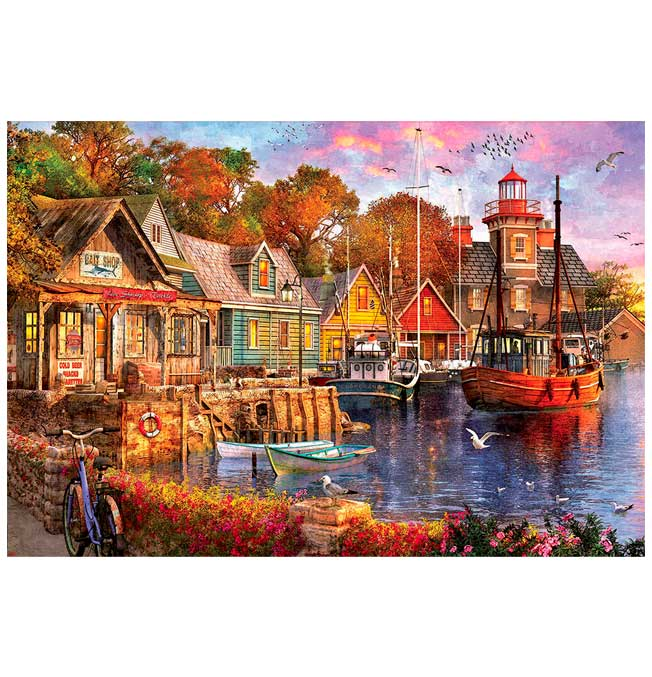 5000 pieces puzzle - The Harbour Evening