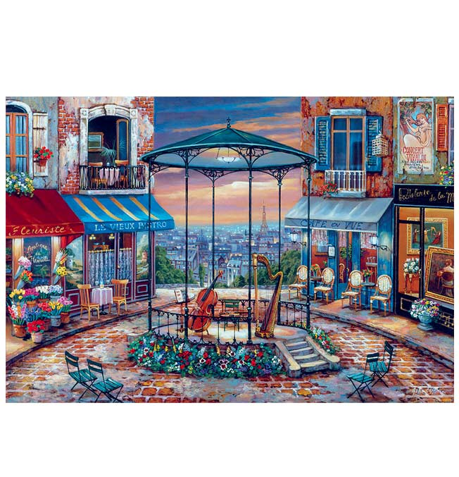 6000 pieces puzzle - Evening Prelude