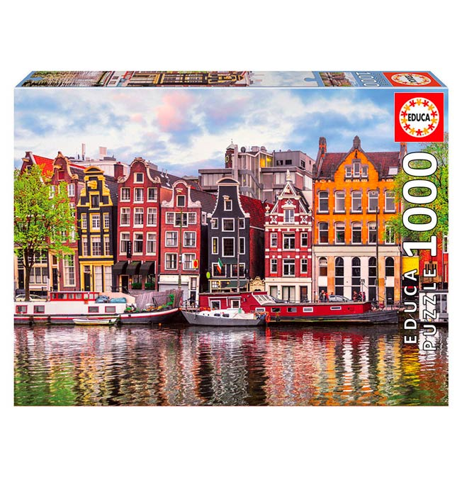 Dancing House, Amsterdam - Puzzle 1000 pieces