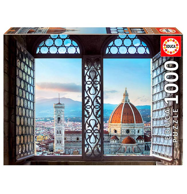 View of Florence, Italy - Puzzle 1000 pieces