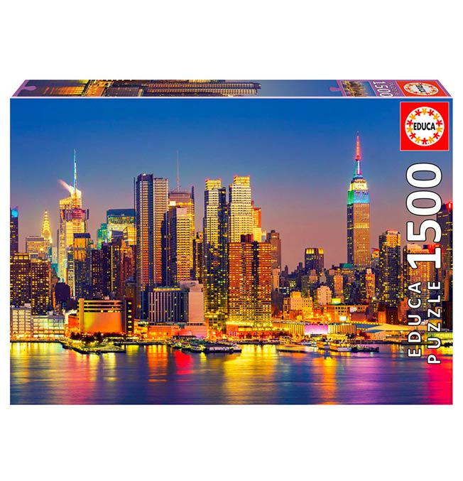 Manhattan at Dusk - Puzzle 1500 pieces