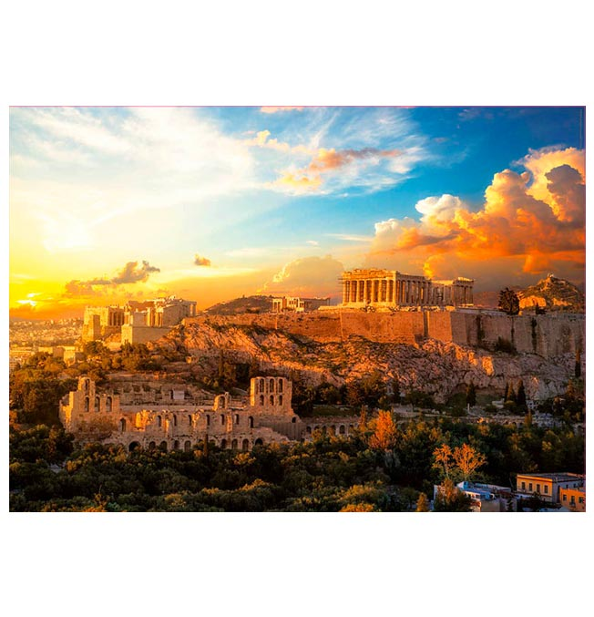 Acropolis of Athens - Puzzle 1000 pieces