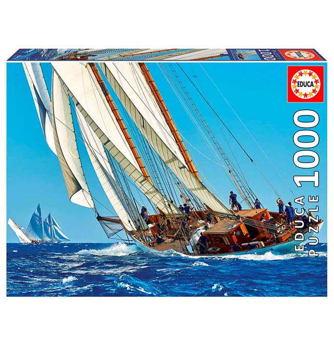 Yacht - Puzzle 1000 pieces