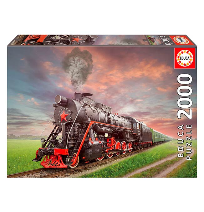 Steam Locomotive - Puzzle 2000 pieces
