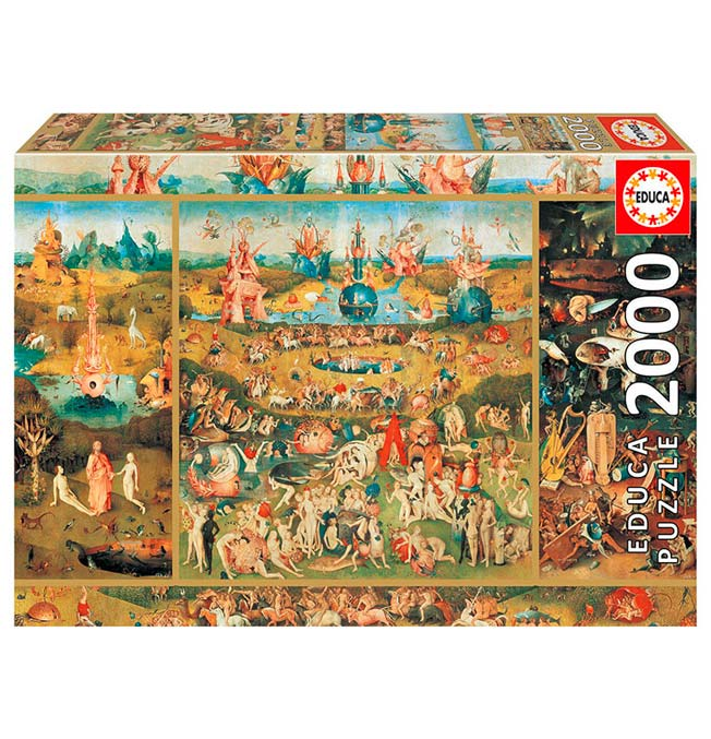 Garden of Delights - Puzzle 2000 pieces