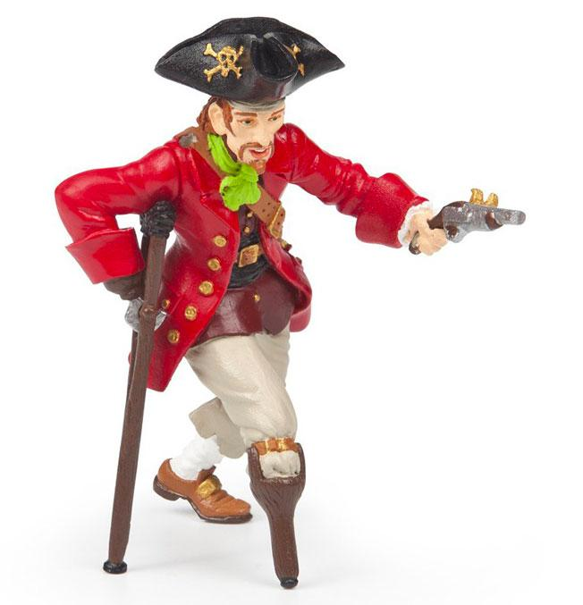 Wooden Leg Pirate with Gun