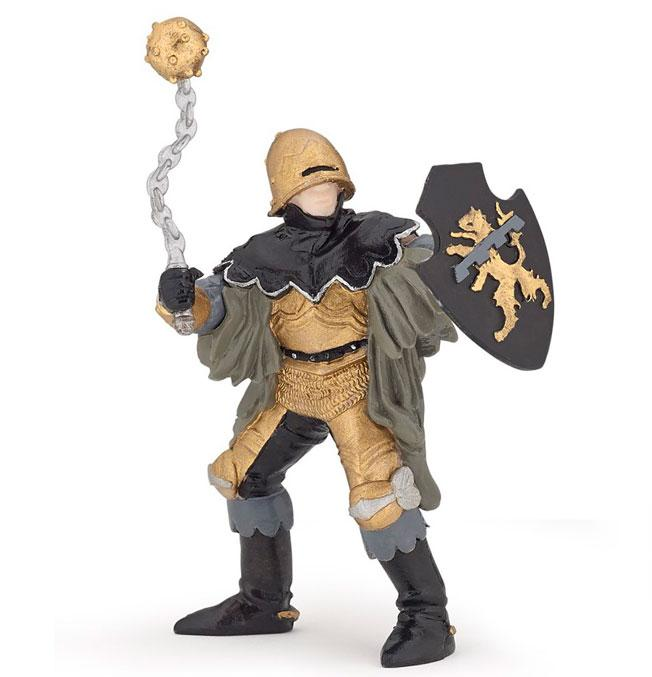 Black & Bronze Officer with Mace