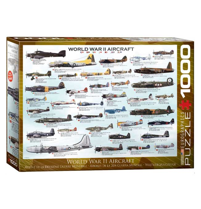 World War II Aircraft - Puzzle 1000 pieces