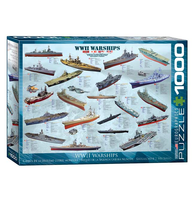 World War II Ships - Puzzle 1000 pieces