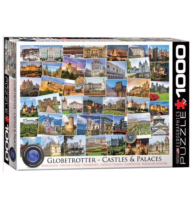 Castles and Palaces Globetrotter - Puzzle 1000 pieces