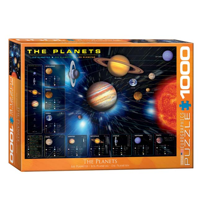 The Planets - Puzzle 1000 pieces