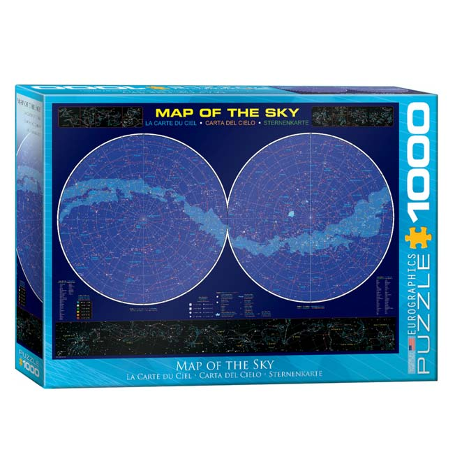 Map of the Sky - Puzzle 1000 pieces