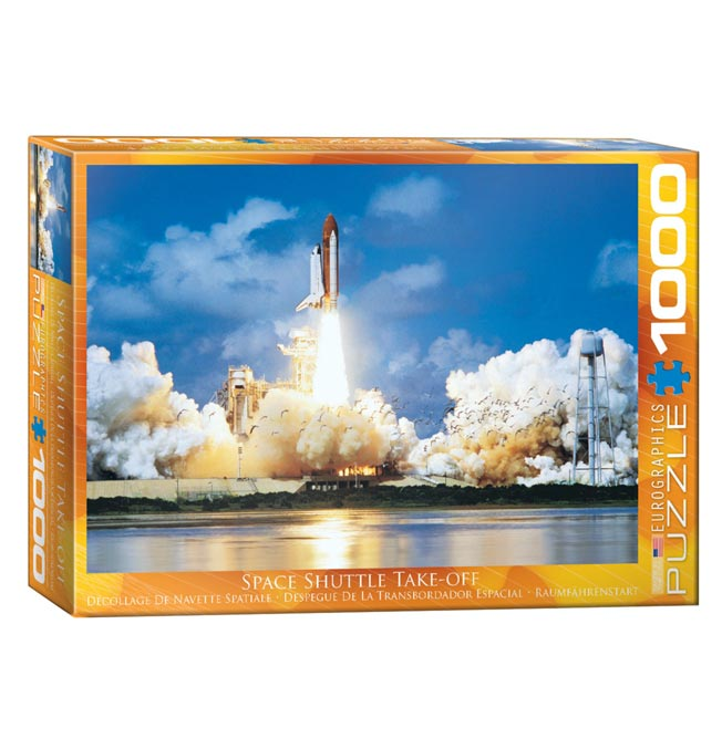 Space Shuttle Take-off - Puzzle 1000 pieces
