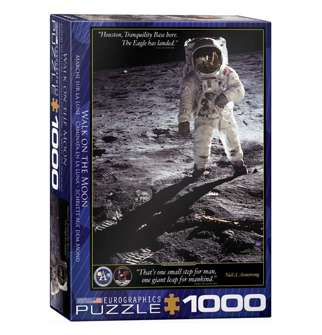 Walk on the Moon - Puzzle 1000 pieces