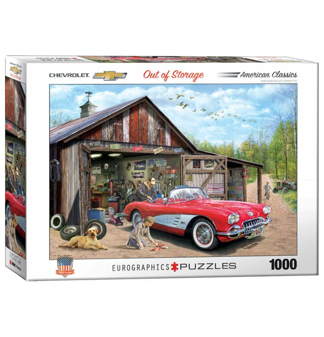 Chevrolet Corvette - Puzzle 1000 pieces
