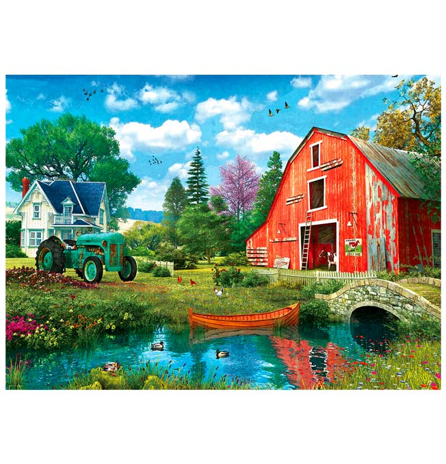 The Red Barn - Puzzle 1000 pieces