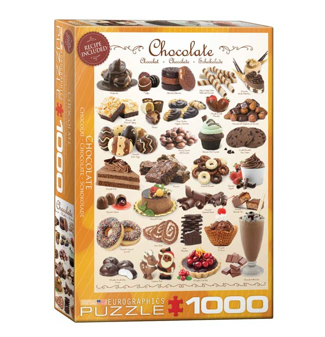 Chocolate - Puzzle 1000 pieces