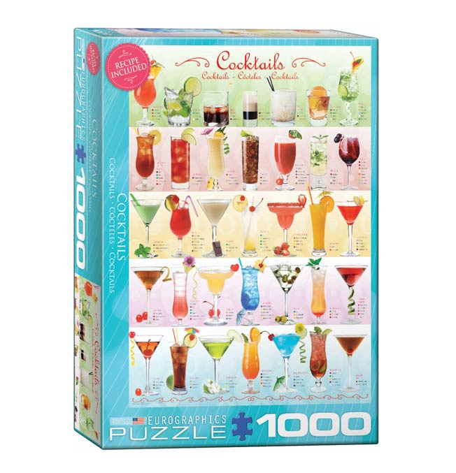 Cocktails - Puzzle 1000 pieces