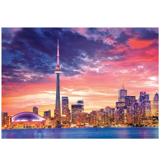 Toronto Skyline - Puzzle 1000 pieces