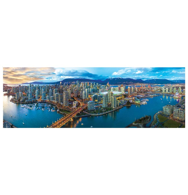 Vancouver, Canada - Panoramic 1000 pieces