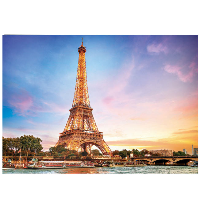 Paris La Tour Eiffel - Puzzle 1000 pieces