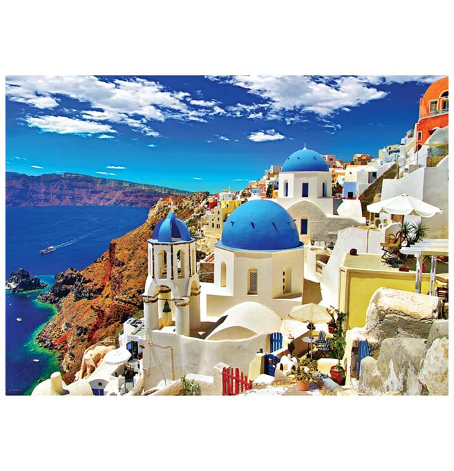 Oia Santorini Greece - Puzzle 1000 pieces