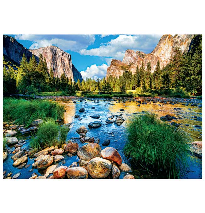 Yosemite National Park - Puzzle 1000 pieces